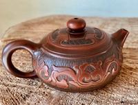 Чайник для Шен Пуэра. Глина Нисин Тао. Объем 120 мл