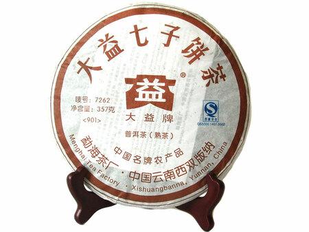 "2009 Шу Пуэр ""7262"" Мэнхай Да И"