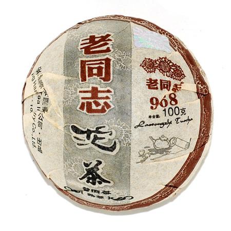 """Шу Пуэр """"968"""" Хайвань (2008 год)"""