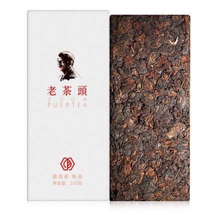 Шу Пуэр Чайные головы (Лао Ча Тоу) Цзинь Гу (2004 год)