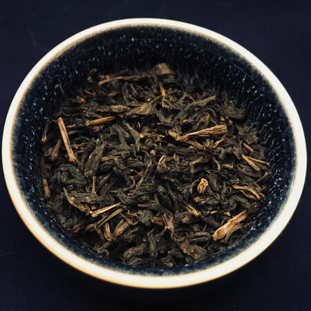 Темный чай (Dark tea) Премиум Хэй Ча из Аньхуа (2010 год)