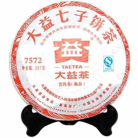 """Шу Пуэр """"7572"""" Мэнхай Даи (2011 год)"""