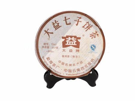 2010 Шу Пуэр 7262 Мэнхай