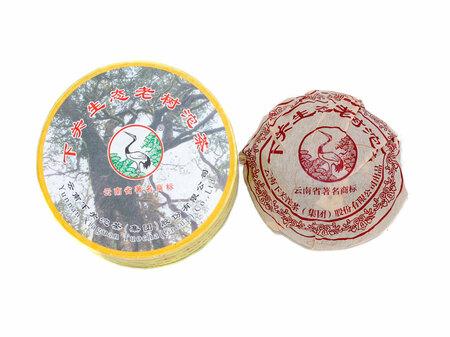 """2011 Шен Пуэр Сягуань """"Старые дикие деревья"""""""